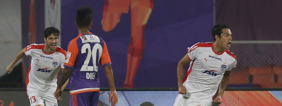 ISL 2017-18: Bengaluru FC ride on Miku's brace to down FC Pune City and cement their place as table toppers