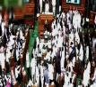 Ending bedlam in Lok Sabha: Speaker suspends 25 Congress MPs for \'grave disorder\'