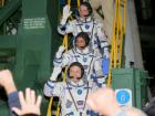 Two US astronauts, Russian cosmonaut blast off five-month International Space Station mission