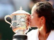 It's Li Na's evening in Paris