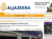Why does Al Jazeera call terror, just violence