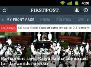 Finally, Firstpost is on Android!