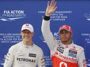 Can Hamilton do a Schumi by reviving a struggling team?