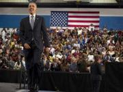 Obama gets groove back, firing up crowds in last phase
