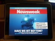 Digital Newsweek with video covers is an awesome experience
