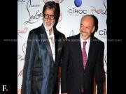 Amitabh Bachchan at Christian Louboutin's flagship store launch in Mumbai