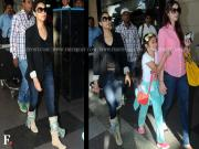 Snapped! Gauri Khan at the Mumbai airport