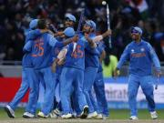Dhoni, Dhawan, Kohli, Jadeja, and Bhuvi in Champions Trophy best XI