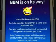 Can BBM ever get it right? Angry users must wait to use Android, iOS app