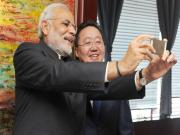 PM Modi in Mongolia: First, let me take a selfie and then I play the fiddle
