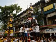 On Krishna Janmashtami, safety comes second to human pyramid politics for Dahi Handi organisers
