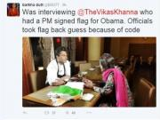 Here's why a signed flag from Modi isn't the best gift for President Obama