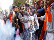 JNU students' protest over Afzal Guru's death stalled by ABVP once again