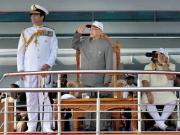 Pranab's Fleet Review: India wants larger strategic role in surrounding waters, but it will take some doing