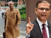 Yashwant outburst may end up harming son Jayant's political future