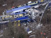 Ten killed, scores injured after trains suffer head-on collision in Germany