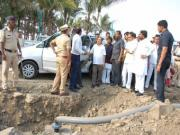 Eknath Khadse Latur visit: VVIP entourage at disaster sites defies the logic of crisis management