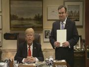 Not Trump, but Joey Pepperoni: SNL rips Donald, Chris Christie