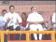 Sarbananda Sonowal sworn-in as Assam chief minister in grand ceremony