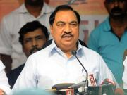 Eknath Khadse's endeavour to come out unscathed exposes his double standards