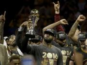 NBA finals: How 'King' LeBron James led the remarkable Cleveland Cavaliers' coronation