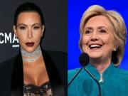 Kim Kardashian shares her trump card; says she'll be voting for Hillary Clinton