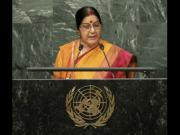 Watch: Sushma Swaraj at UNGA hammers Pak on terror, Pathankot, Uri