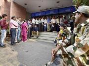 Rs 500, Rs 1,000 ban: RBI says all is well but we went to 12 ATMs and most were shut