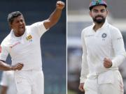 Live India vs Sri Lanka 2017, 1st Test, Day 3, Cricket Score, Updates: Mathews, Dilruwan try to steady ship after catastrophic Day 2