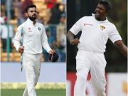 Highlights India vs Sri lanka 2017, 1st Test, Day 1: Visitors perched on a comfortable 399 at stumps