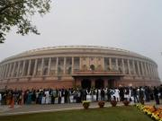 Parliament Day 6 LIVE: Opposition to stage dharna after Sumitra Mahajan suspends six Congress MPs for throwing paper