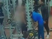 Indore: CCTV catches man punching, kicking woman at gym for resisting molestation
