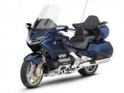 Leaked press images of the new Honda Gold Wing reveal full LED headlamps and a new suspension