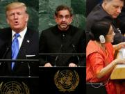 From 'Terroristan' to 'giant golden Goliath': The 72nd UN General Assembly saw several dramatic statements
