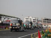 ITBP showcases mechanised column of power vehicles, machines aimed at guarding India-China border