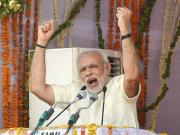 'Look where they are and where we are': In Gandhinagar, Narendra Modi focusses on Congress, attacks Rahul