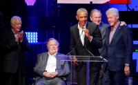 Former US presidents, musicians hold benefit concert to raise money for Hurricanes Harvey, Irma, Maria victims in Texas