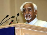 Pranab Mukherjee not in favour of two executive authorities in state, says Hamid Ansari