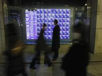 Asian shares down; Apple results weigh, China data eyed