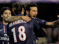 Champions League: Lavezzi's early strike helps PSG beat Valencia 2-1