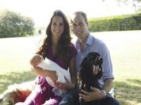 Prince George makes second outing for christening of the year