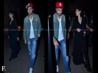 Images: Ranbir and Katrina get together to watch The Wolf Of Wall Street