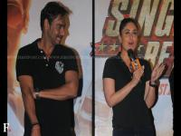 Photos: Ajay, Kareena are all smiles as at trailer release of Singham Returns