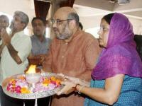 BJP leaders, ministers attend Amit Shah's son's engagement function