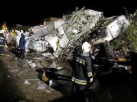 Taiwan: Plane crashes during emergency landing, 47 dead