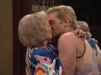 This is Epic: 93-year-old Betty White liplocks with Bradley Cooper at SNL's 40th anniversary