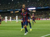 Neymar double takes Barcelona into Champions League semi-finals