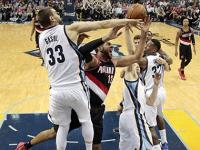 NBA playoffs: Memphis Grizzlies beat Trail Blazers to seal place in West semifinals
