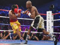 Photos: Mayweather beats Pacquiao to become the undisputed welterweight champion of the world