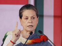 Sonia Gandhi lashes out at BJP, says it's a 'joke' that party leaders are swearing by Constitution